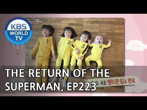 The Return of Superman | 슈퍼맨이 돌아왔다 - Ep.223 : You Make Me Happy [ENG/IND/2018.05.06]