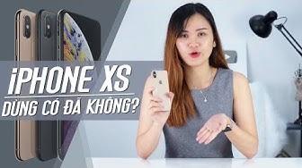 """iPhone XS dùng có """"đã"""" không?"""