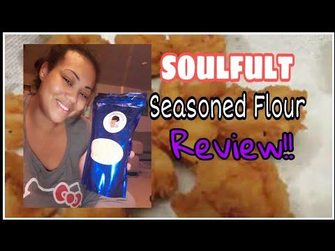 soulfult-seasoned-flour-review!!||fried-shrimp