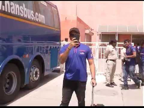 Mumbai indians in indore for IPL