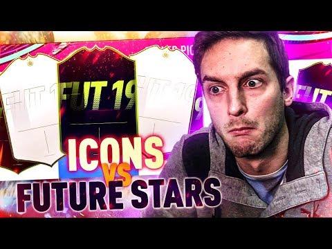 ICONS vs FUTURE STARS - L'ULTIMO DIFFICILE DRAFT PRIMA DEL FIFA A OBIETTIVI! [FIFA 19]