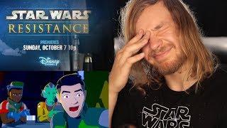 DISNEY STAR WARS RESISTANCE : Trailer Reaction & Honest Opinion