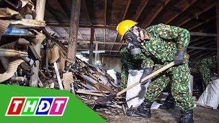 Lần đầu tiết lộ hình ảnh kho hàng Rạng Đông sau vụ cháy   THDT