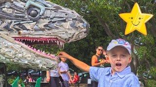 Супер Видео Для Детей Интересный Зоопарк в Городе Вашингтон Много Животных Влог Макс Играет в Парке