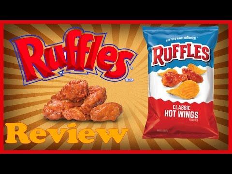♥Ruffles Hot Wing Chips Review♥-March...