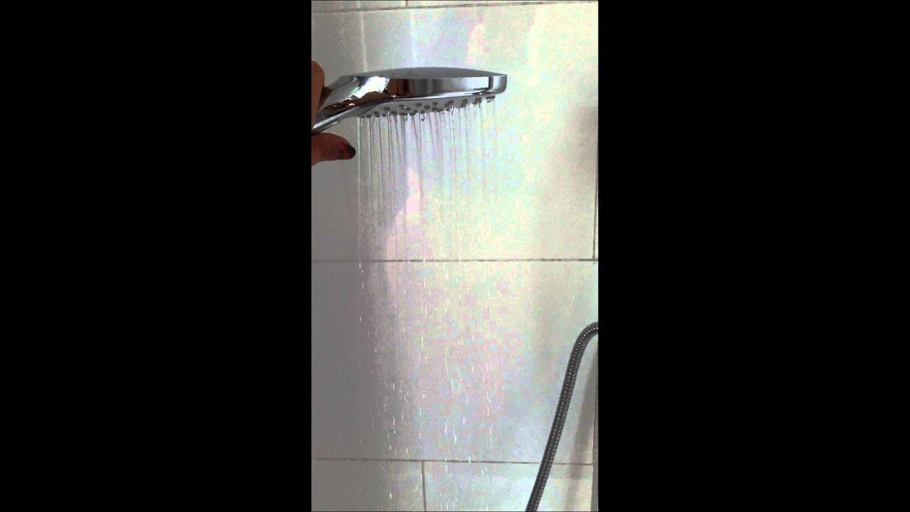 hansgrohe raindance select e120 youtube. Black Bedroom Furniture Sets. Home Design Ideas