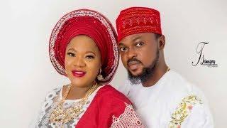 Toyin Abraham And Kolawole Ajeyemi's Official Engagement Pictures
