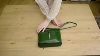 Видео обзор итальянской сумки-кроссбоди Vera Pelle 2030 TATTI для магазина BorsaToscana.ru