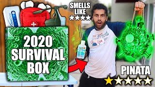 "I Bought ALL The WORST RATED ""PANDEMIC"" Survival Products On WISH! 2020 EDITION! *DOOMSDAY PREPPERS*"