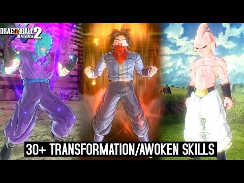 30+ Transformation/awoken Skill for CAC! Official & Modded Version - Dragon Ball Xenoverse 2 - 동영상