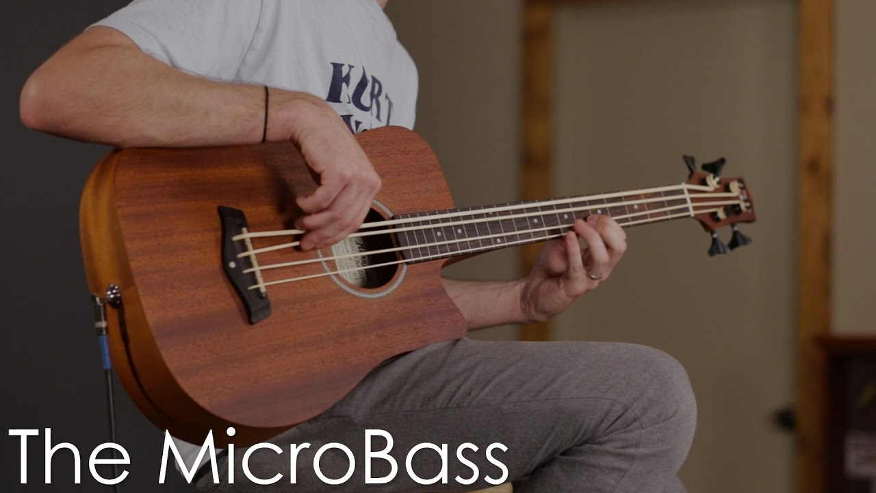 M-Bass: Acoustic-Electric MicroBass | Gold Tone Folk Instruments