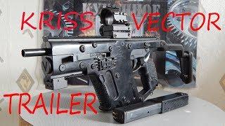 Тизер-трейлер моего самодельного пистолета-пулемёта а-ля KRISS Vector.