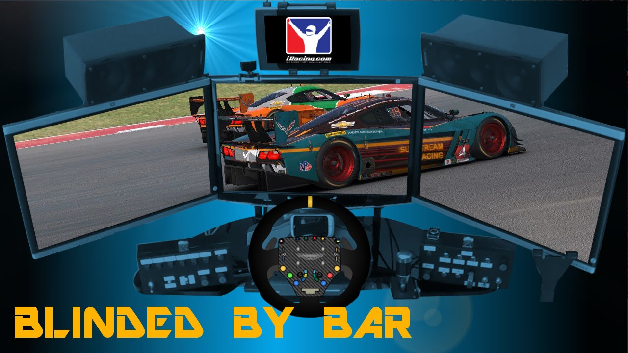 iRacing: Corvette DP at COTA - Blinded By Bar
