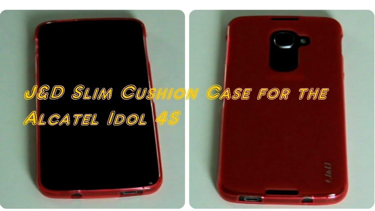 timeless design 975a2 e525e J&D Slim Cushion Bumper Case for the Alcatel Idol 4S