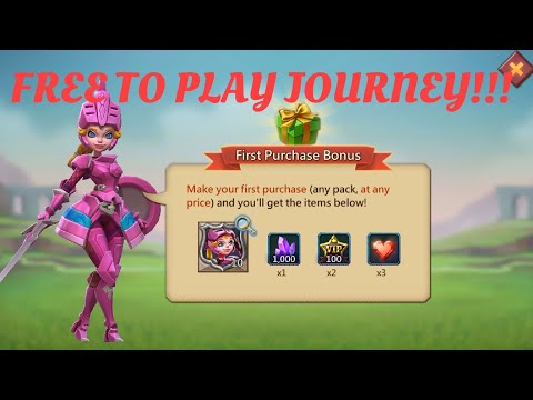 GF Rewards! 14 Days F2P! Recruiting! Lords Mobile