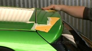 How to install a spoiler on a Mazda 2