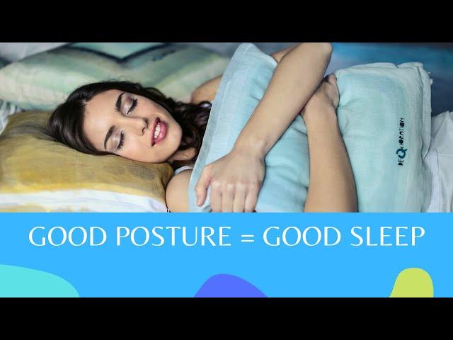Good Posture = Good Sleep   How Chiropractor Can Help You Sleep Better