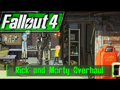 Fallout 4 Rick and Morty MOD Overhaul