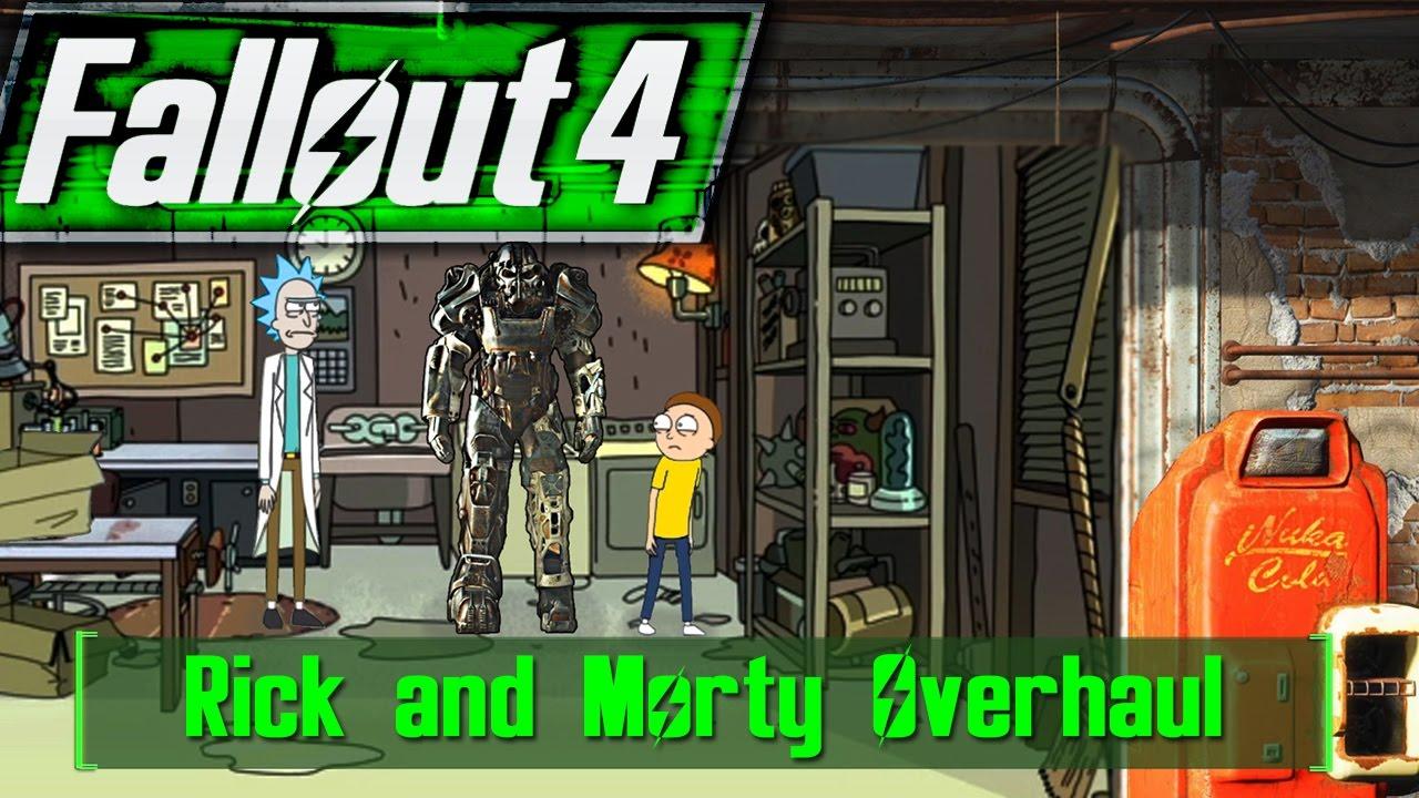 Fallout 4 - RICK AND MORTY OVERHAUL Ft  Rick Sanchez