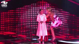 Magdalena cantó 'No llores por mi Argentina' de Paloma – LVK Colombia – Audicione a ciegas – T1