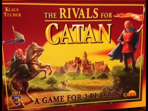 First Game of Rivals for Catan
