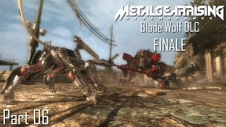 Metal Gear Rising: Revengeance - Blade Wolf DLC Part 06 FINALE | Too Much Gaming