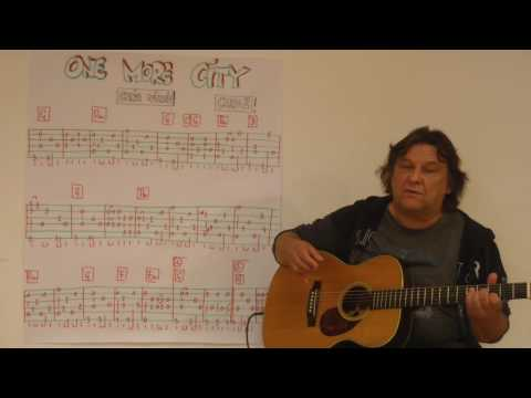 Fingerstyle Guitar Lesson #102: ONE MORE CITY (Colin Wilkie / Hannes Wader)