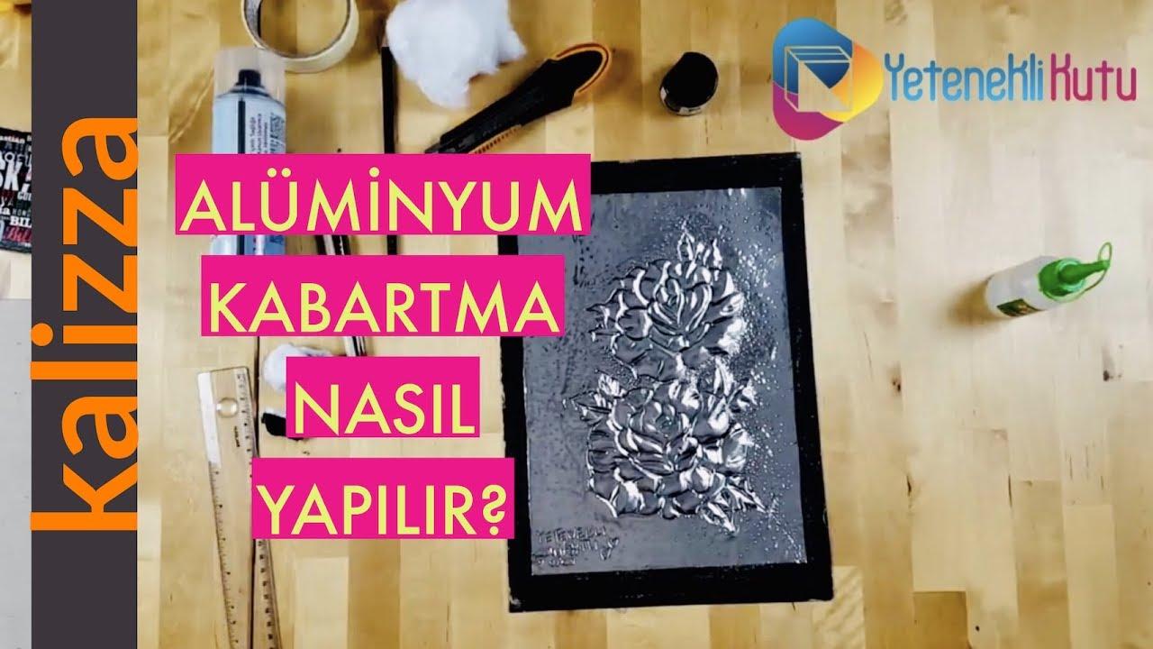 Aluminyum Folyo Kabartma Nasil Yapilir Youtube