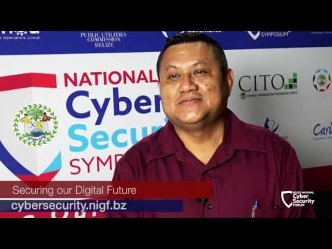 "Mario Alcoser, Belize Police IT Unit: Cybersecurity ""starts at home"""