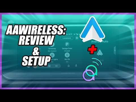 AAWireless: How To Make Android Auto Wireless | Wireless Android Auto USB Dongle Review and Setup