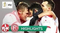 Düsseldorf siegt am Ende souverän   Kaiserslautern - Düsseldorf 2:5   Highlights - DFB-Pokal 2019/20