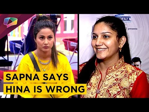 Sapna Chaudhary Says Hina Khan Is Wrong | Exclusive Interview On Her New Song