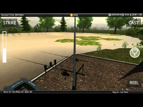 Carp Fishing Simulator Mobile Trailer - The only Carp Fishing Game on your phone/tablet