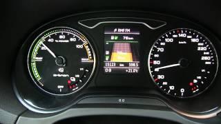 Audi A3 e-tron - średnie spalanie, sposób działania napędu hybrydowego