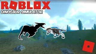 Roblox Dinosaur Simulator - New Developer Dinosaur! + The Isle Gameplay