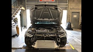 AUDI RS3/TTRS PERFORMANCE PARTS DEVELOPMENT + 3D PRINTING + DYNO. 5CYL SOUND PORN!!!