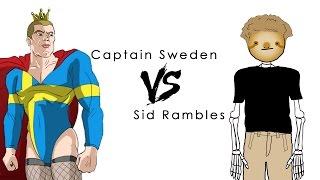 Captain Sweden Wears High Heels For Feminism!