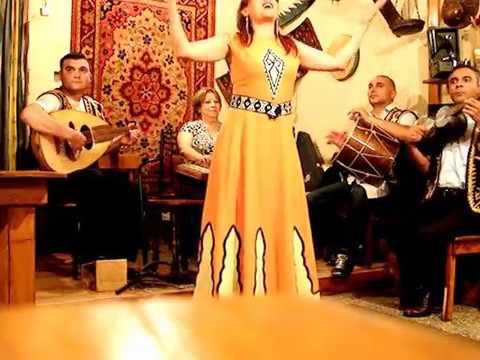 Traditional Armenian Singer In Yerevan