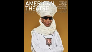 Behind the scenes with André De Shields for his American Theatre Magazine Cover Photo photoshoot