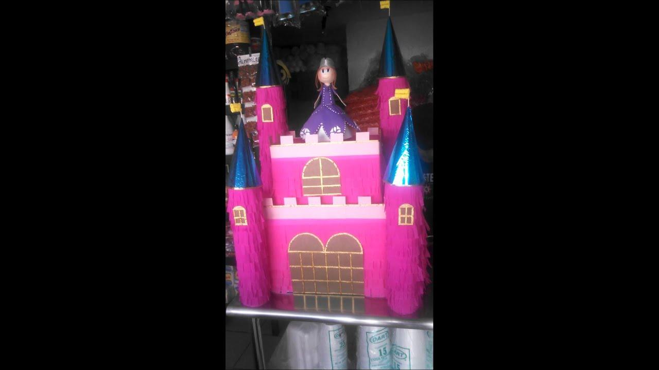 Piata castillo d princesa sofia  YouTube