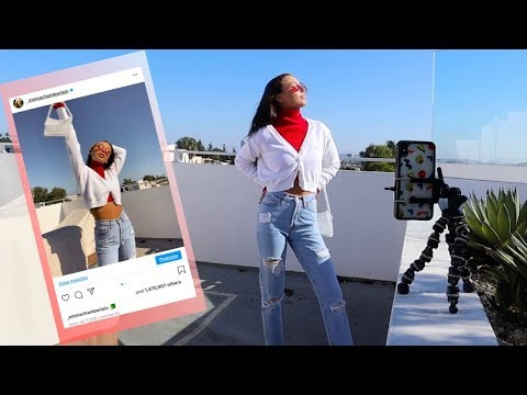 TAKING MY OWN INSTAGRAM PHOTOS *embarrassing*