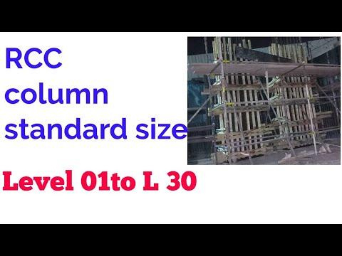 RCC (Column standard size)