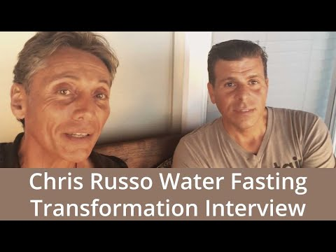 Dr Robert Cassar, 21 day participant chris russo interview from Long Island 2015