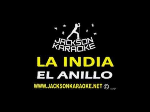 LA INDIA   EL ANILLO KARAOKE