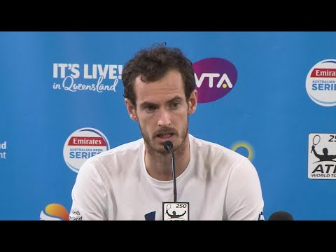 Andy Murray Pre-Tournament PC | Brisbane International 2018