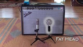 Mic Comparison: Cascade Microphones Fat Head vs Royer Labs R-10 - Primal Union