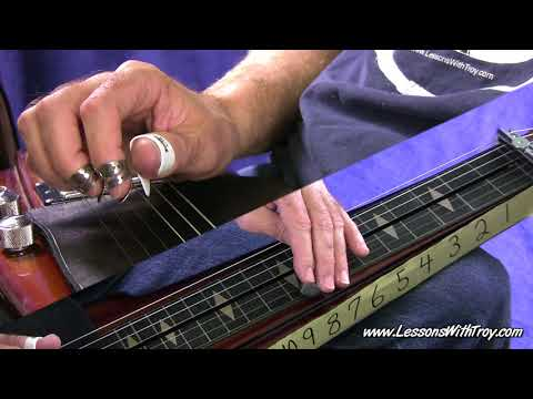 Classic Country Double Stops - Open G - Lap Steel or Dobro