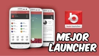 Mejor Launcher para Android [Buzz Launcher]