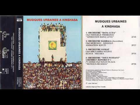 "Orchestre ""Tout Puissant"" Likembe Konono N°1 / Konono Molende - Mungua-Muanga [SEE DESCRIPTION!]"
