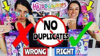 HAIRDORABLES HACK! 6 GENIUS STEPS HOW TO COLLECT a FULL SET of HAIRDORABLE DOLLS + RAYNE SHOWERS